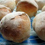 Ciabatta bread rolls