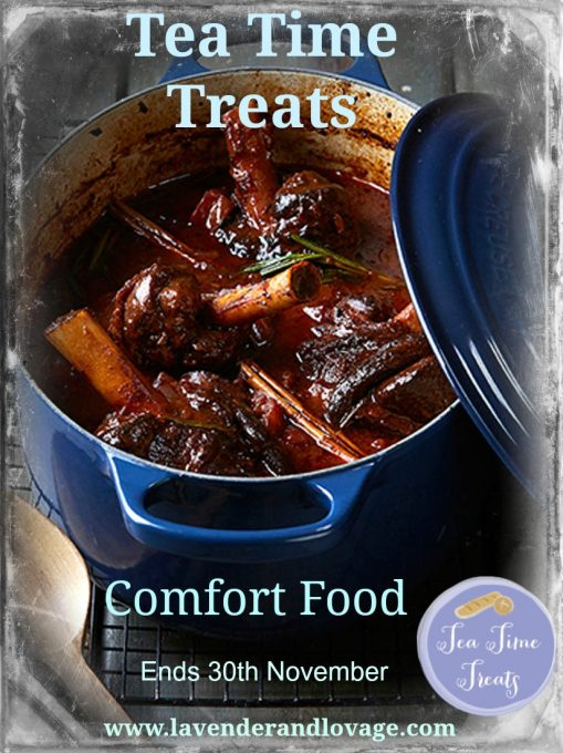 Tea Time Treat Comfort Food November 2016