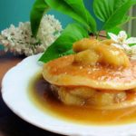 Buttermilk Pancakes with Banoffee Bananas & Cream