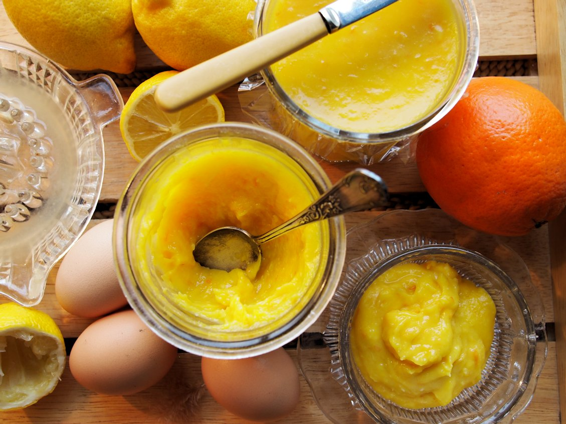 Preserves from the Pantry – Oranges & Lemons for St Clement's Curd on Slow Sunday
