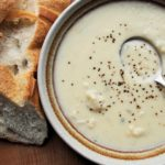 Creamy Cauliflower & Stilton Cheese Soup