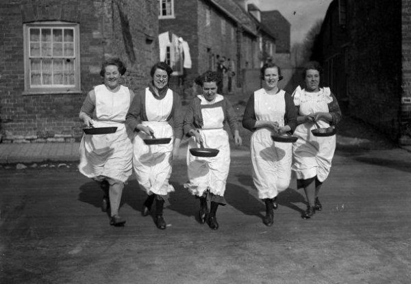 The Pancake Race