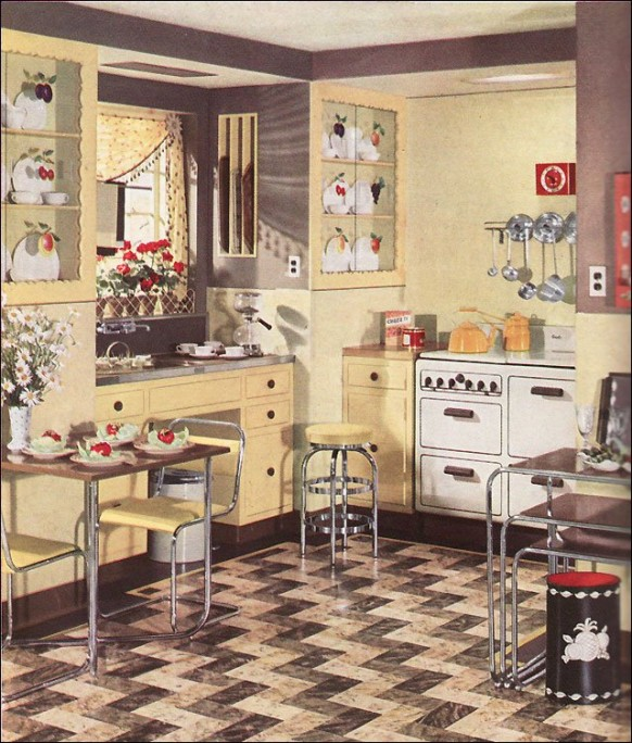 Retro Kitchen Cabinets Pictures Ideas Tips From Hgtv: Retro Kitchens And Vintage Kitchenalia