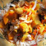 South Sea Islands Fish & Sweet Potato Stew