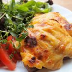 Scotch Rarebit with Smoked Haddock