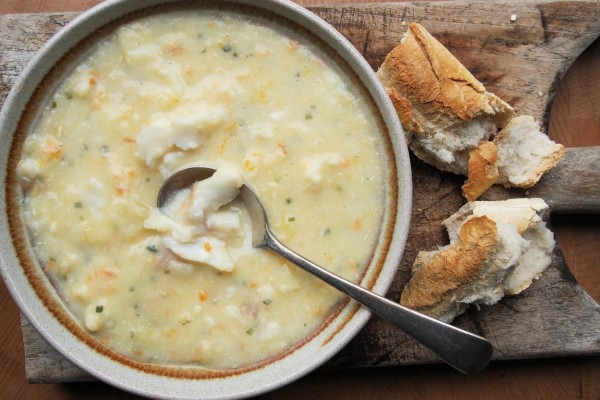 Scottish Seafood Chowder – Cullen Skink my way…….with Smoked Whiting