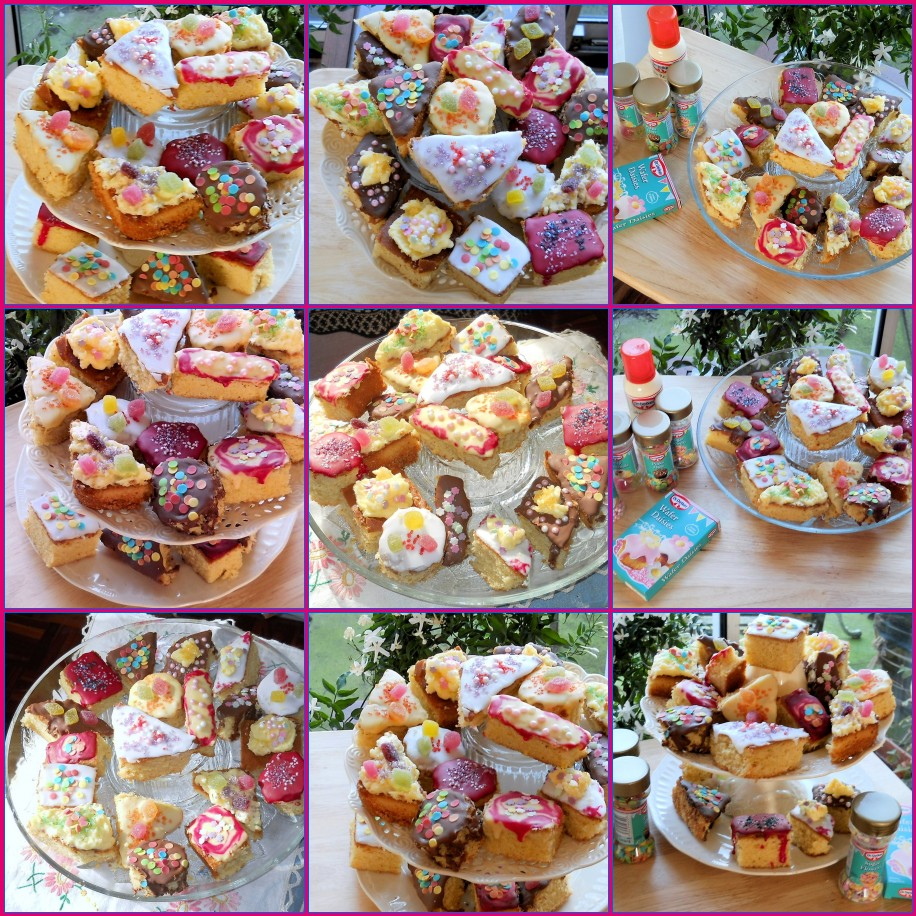 A kaleidoscope of fancies fancy little cakes my mum 39 s for Bakery decoration