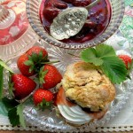 An Invitation to a VERY Large Tea Time Treats Table! Scones & the March Recipe Round-Up