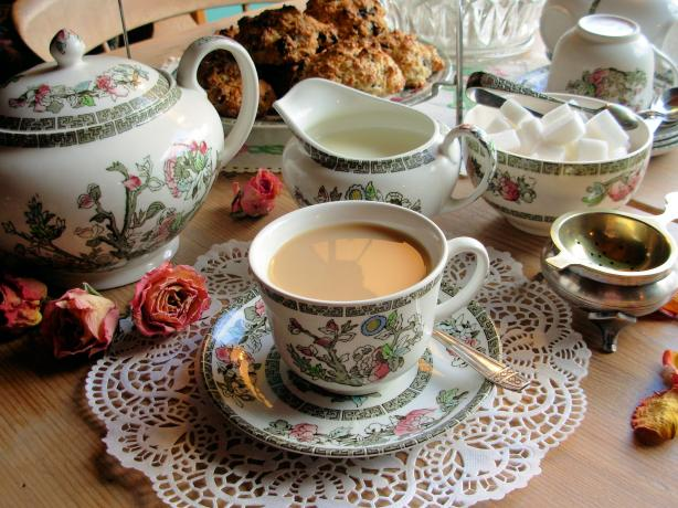 The Perfect Pot And Cup Of English Tea With Trumpers Tea