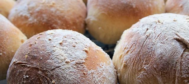 Last Day to Celebrate British Bread Week with my Mum's Scottish Morning Rolls – Baps