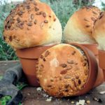 Rustic Flower Pot Bread Loaves