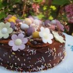 Chocolate Orange Daisy Cake