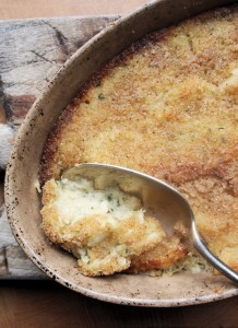 Brandade de Morue – Salt Cod, Garlic & Potato Gratin