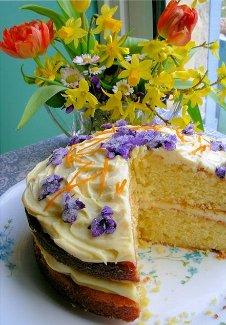 Part Two – Tea Time Treats – BIG FAT FLORAL BAKING ROUND UP!