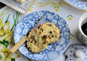Buttermilk and Mixed Fruit Scones