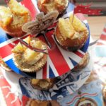 Royal Elderflower & Lemon Curd Butterfly Cakes