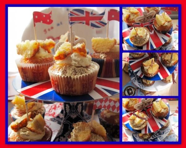 Royal Elderflower & Lemon Curd Butterfly Cakes