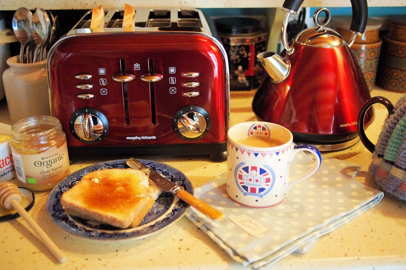 morphy richards toaster instructions
