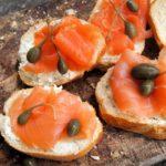 Smoked Salmon Tartine (Tartine au saumon fumé)