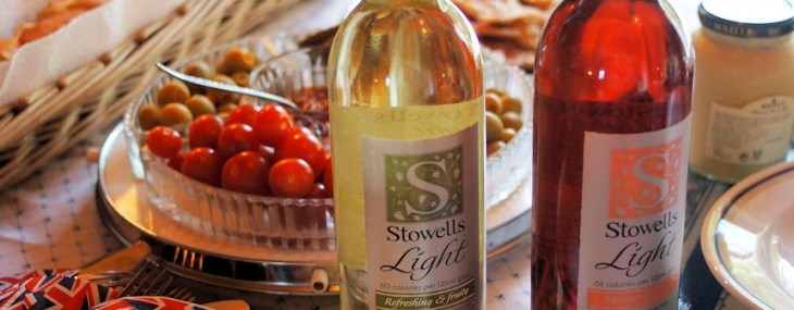 Wine Tasting Notes from a Jubilee Party with Stowells Light Wine for Ladies who Lunch!