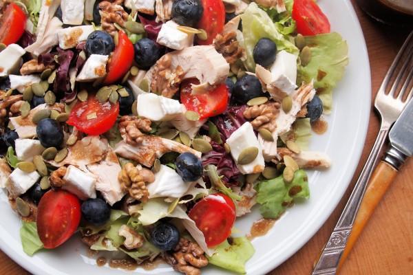 Сытный салат с