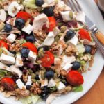 Team Capricorn! Olympic Power Salad with Goat's Cheese, Fruit and Nuts