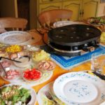 Pancakes and Parties – Raucous Raclette Evenings with Family, Friends and Melted Cheese!