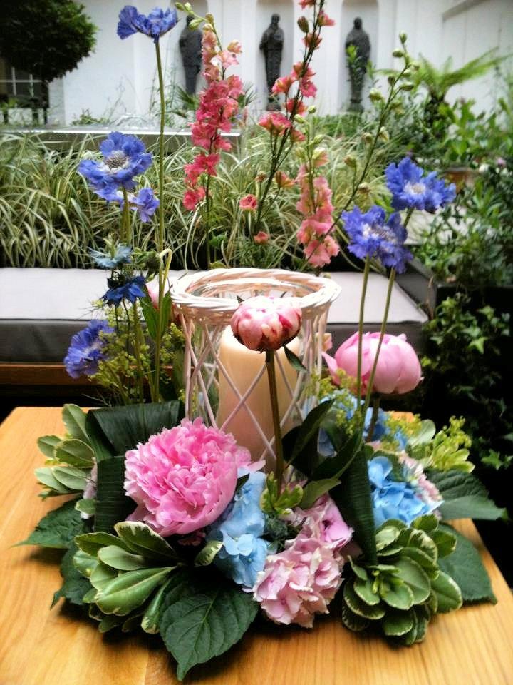 A Summer Garden Party Flower Arranging Evening At The