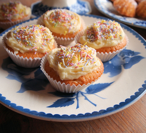 Summer Fairs & Fêtes and Cake Stall Cakes & Bakes - July's Tea Time Treats Baking Challenge
