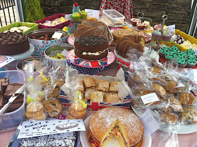 A REAL cake stall from Horwich Summer Fete for babies (Photo by DollyBakes - Rachel  McGrath)