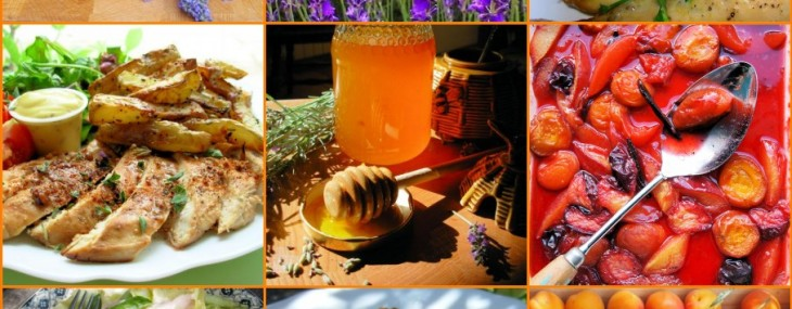 Lavender and Lovage Sunday Patchwork Quilt of Photos and Recipes