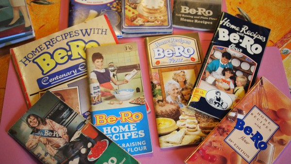 My Be-Ro Cookbook Collection through the decades....