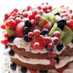 Genoise Sponge Cake with Berries