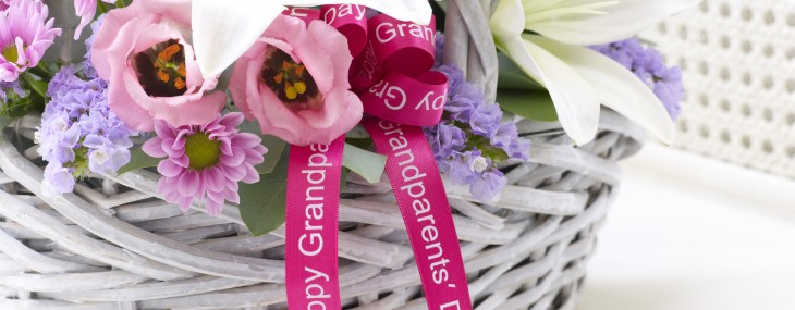Bake a Cake for Grandparents' Day & Win a Luxury Flower Arrangement & a Grandparents' Day Gift Basket