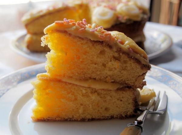 Grandma's Citrus Curd Cake