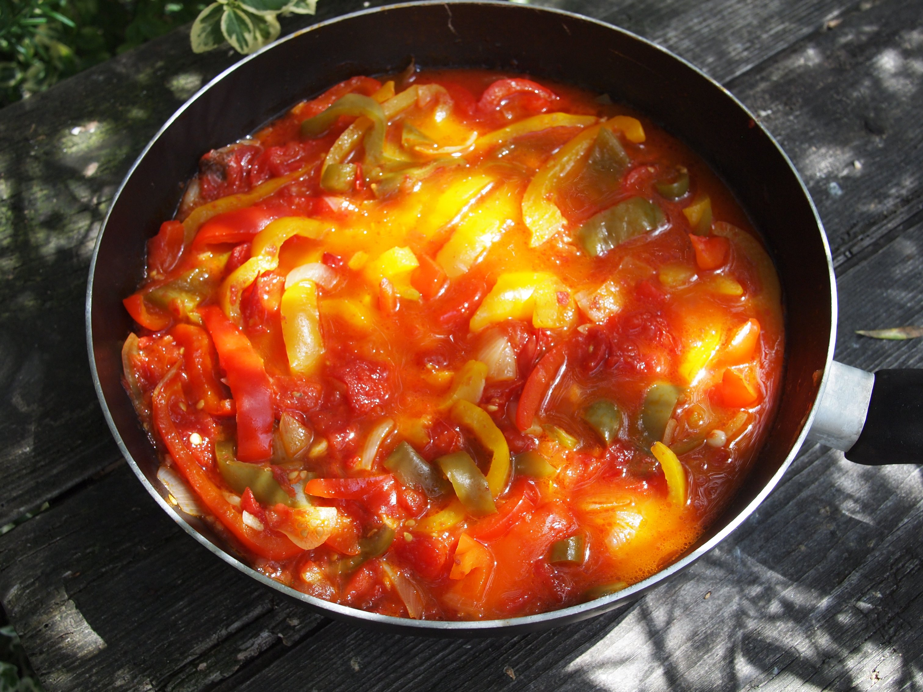 related recipes peperonata eggs over easy with peperonata baked ...