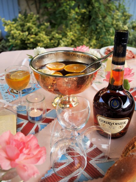 Courvoisier Cognac Comes Home! A Team GB Golden Celebration Party with Courvoisier Punch