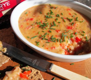 Red Pepper, Lentil and Cheese Pâté (Spread)