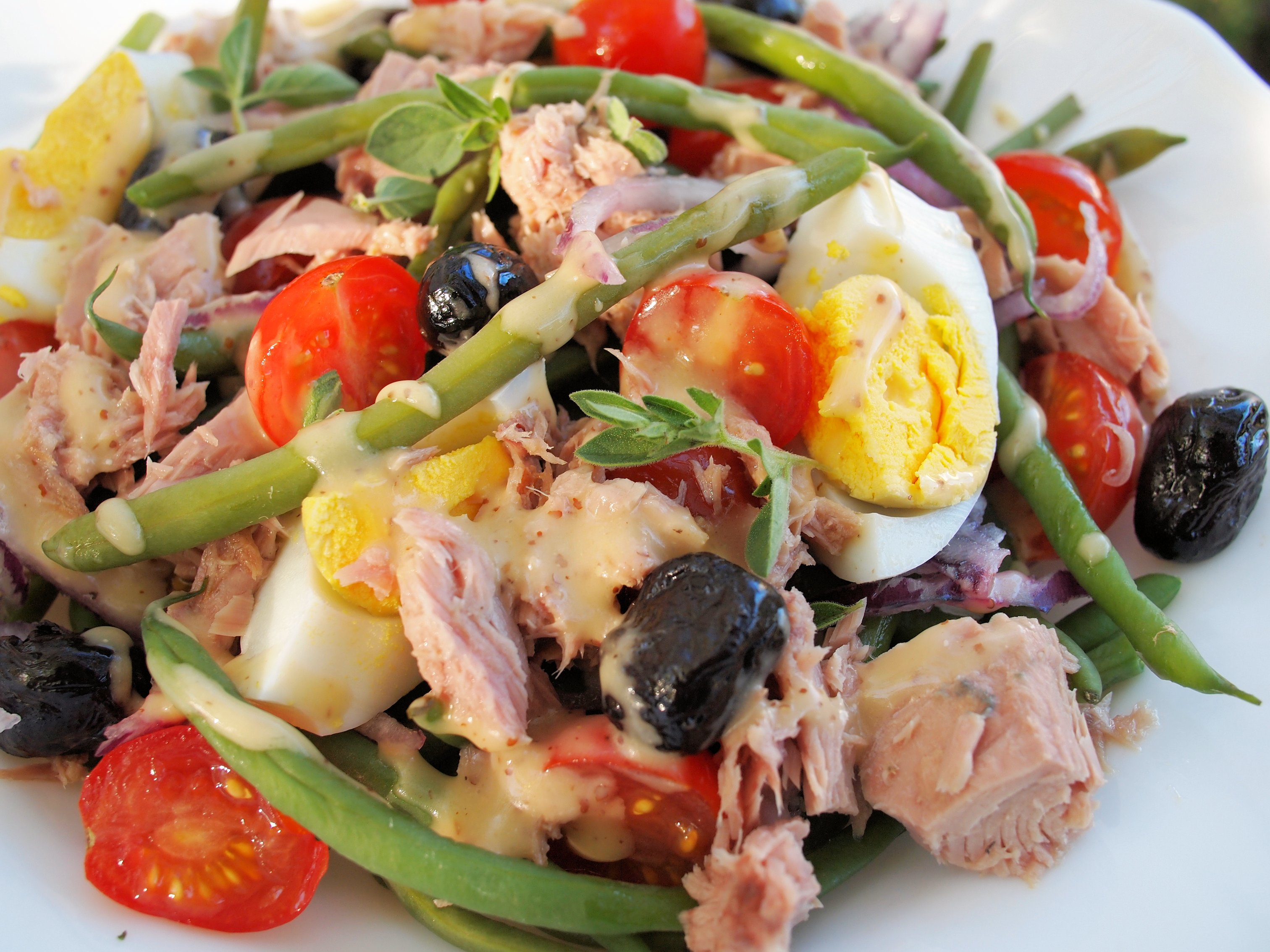 Salad Niçoise - Lavender and Lovage