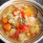 Elderberries, Stormy Days and Meal Planning: Autumn Broth Recipe (5:2 Diet)