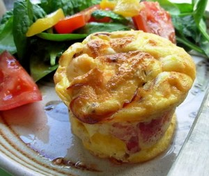 Cheese and Bacon Soufflé
