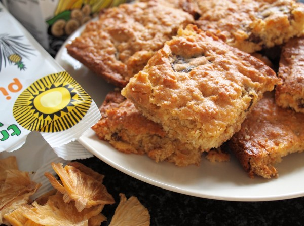 Fairtrade Tropical Flapjack Bake.