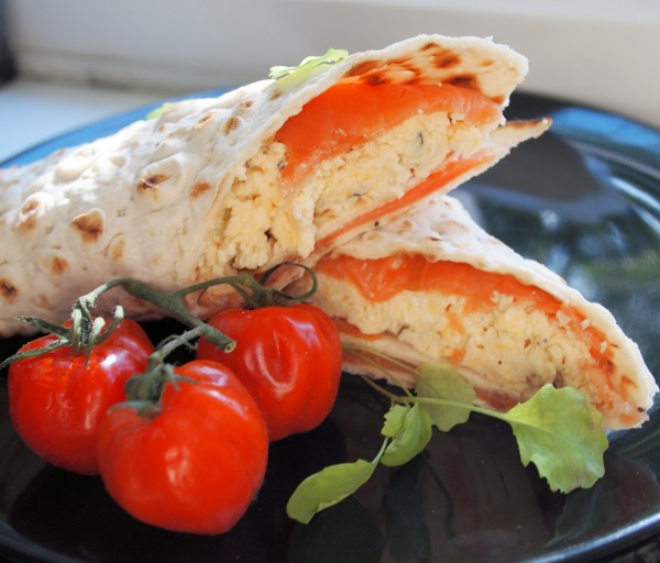 ... Review and Scandinavian Smoked Salmon & Scrambled Egg Breakfast Wraps