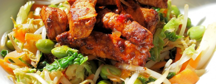 Taxis, Trains and Temptation! 5:2 Diet Fast Day Recipe: Smoky Mexican Stir Fry with Chicken