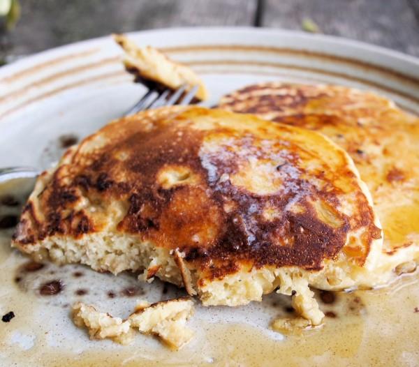Fluffy Porridge Pancakes