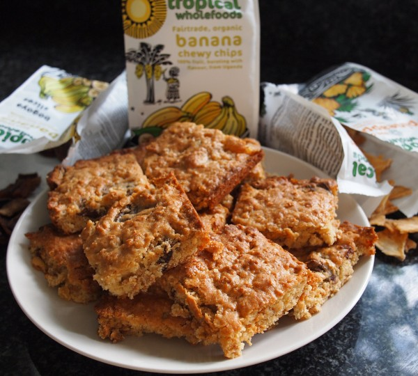 Tropical Fruit Flapjacks