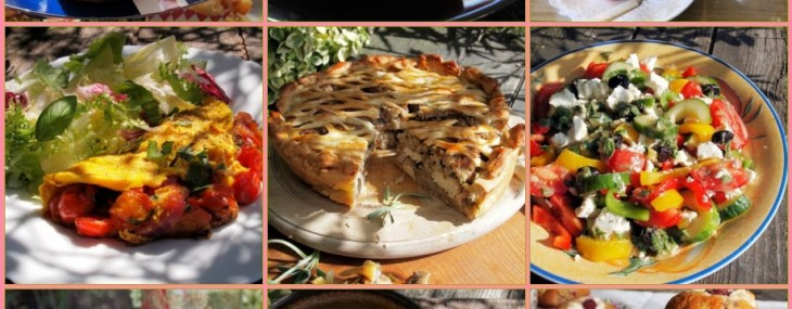 Lavender and Lovage Patchwork Quilt of Recipes & Photos: Including Recipes for 5:2 Diet Fast Days