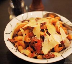 Italian Sausage Pasta Bowl