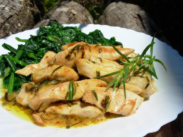 5:2 Diet: Comfort Food that's Low in Calories! Très Rapide French Tarragon Chicken