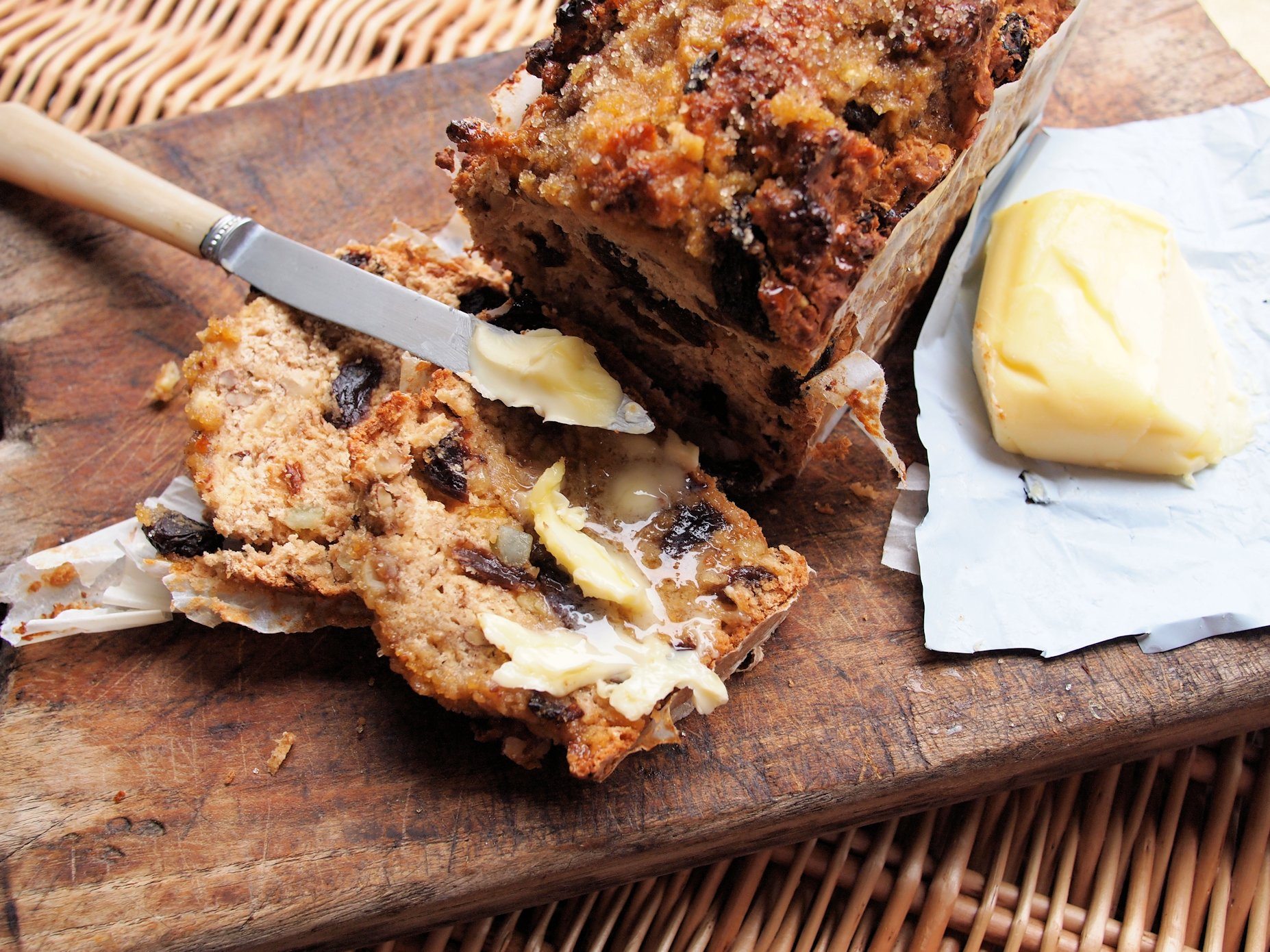... Log Fires and Old-Fashioned Granny Loaf (Egg-Free and Fat-Free) Recipe